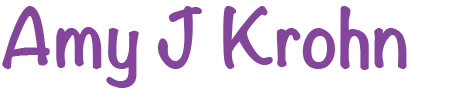 Amy J Kron - Author - home